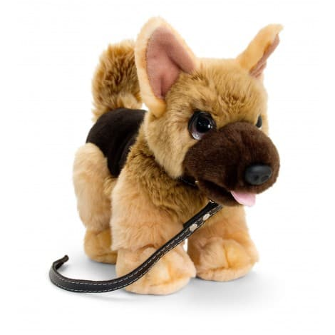 CUDDLE PUP ON LEAD ALSATIAN BY KORMICO